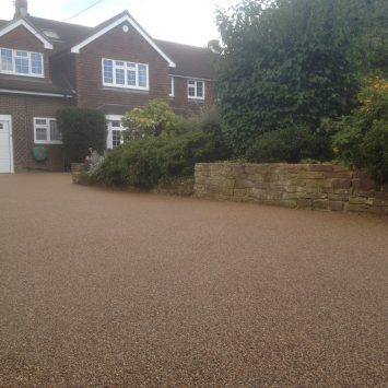 Resin Bound Driveway SGS