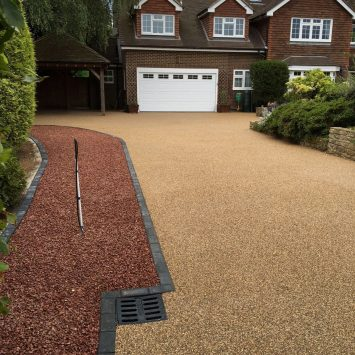 Driveway redesign