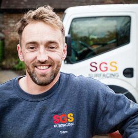 Sam at SGS